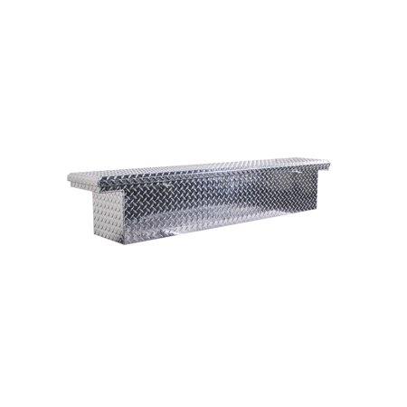 Low Profile Slim Aluminum Truck Tool Box Aluminum Diamond Plate Tool Box