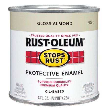 Rustoleum  Stops Rust 7770 730 1/2 Pint Almond Protective Enamel Oil Base