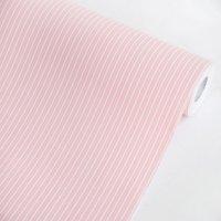 Pink Stripes - Vinyl Self-Adhesive Wallpaper Prepasted Wall Decor (Roll)