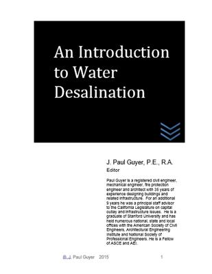 An Introduction to Water Desalination by