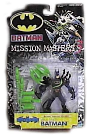 : The New Adventures Mission Masters 3 Virus Delete Action Figure By Batman by