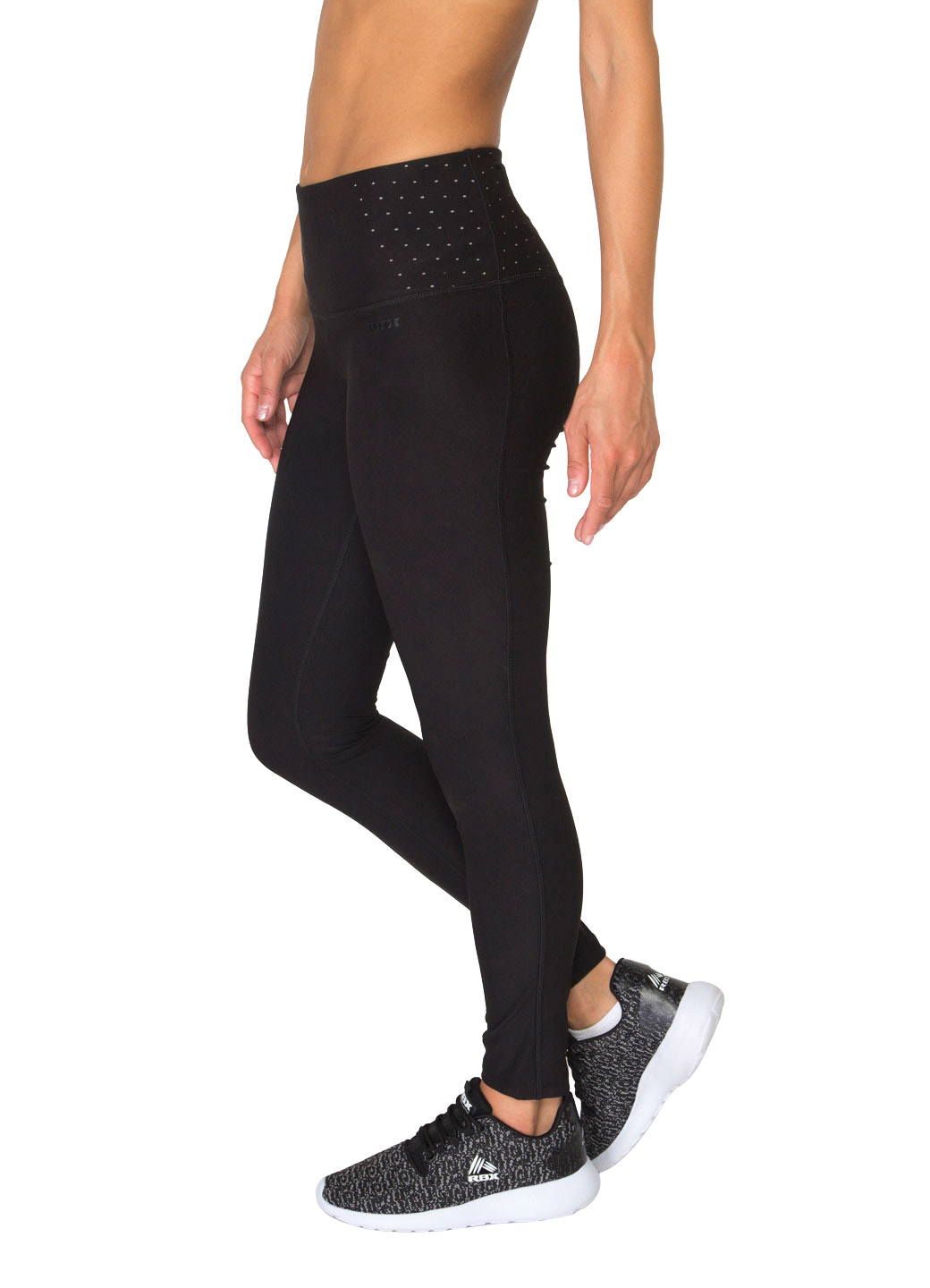 RBX Active Women's Body Contouring High Waisted Athletic Performance Leggings