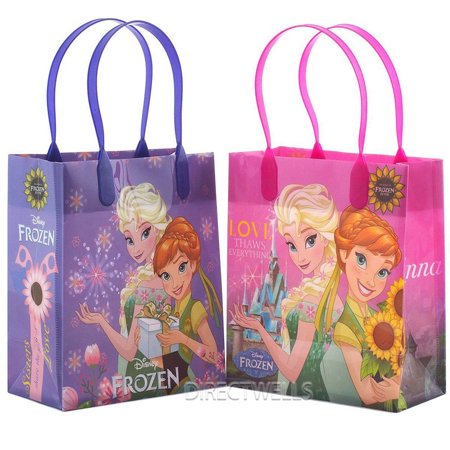 Disney Frozen Fever 12 Good  Quality Party Favor Reusable Goodie Small Gift Bags 6