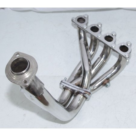 Stainless Steel Header fits Honda CRX Civic RT 4WD Wagon 4D 1.6L (Honda Civic 4wd)