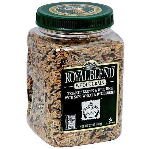 Royal Blend Texmati Brown And Wild Rice, 28 oz (Pack of 4)