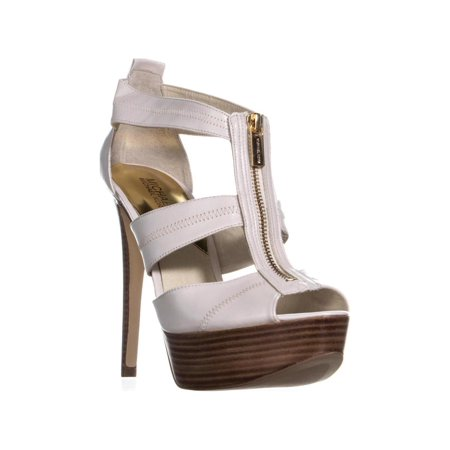 cab807a5d499 Michael Kors - Womens MICHAEL Michael Kors Berkley T-Strap Platform Sandals