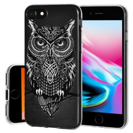 iphone 8 case owl soft gel