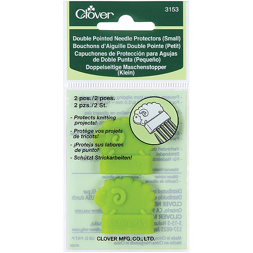 Clover Double Pointed Needle Protectors, Small