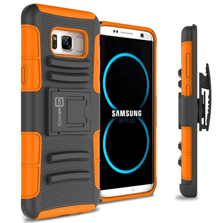 CoverON Samsung Galaxy S8 Case, Explorer Series Protective Holster Belt Clip Phone