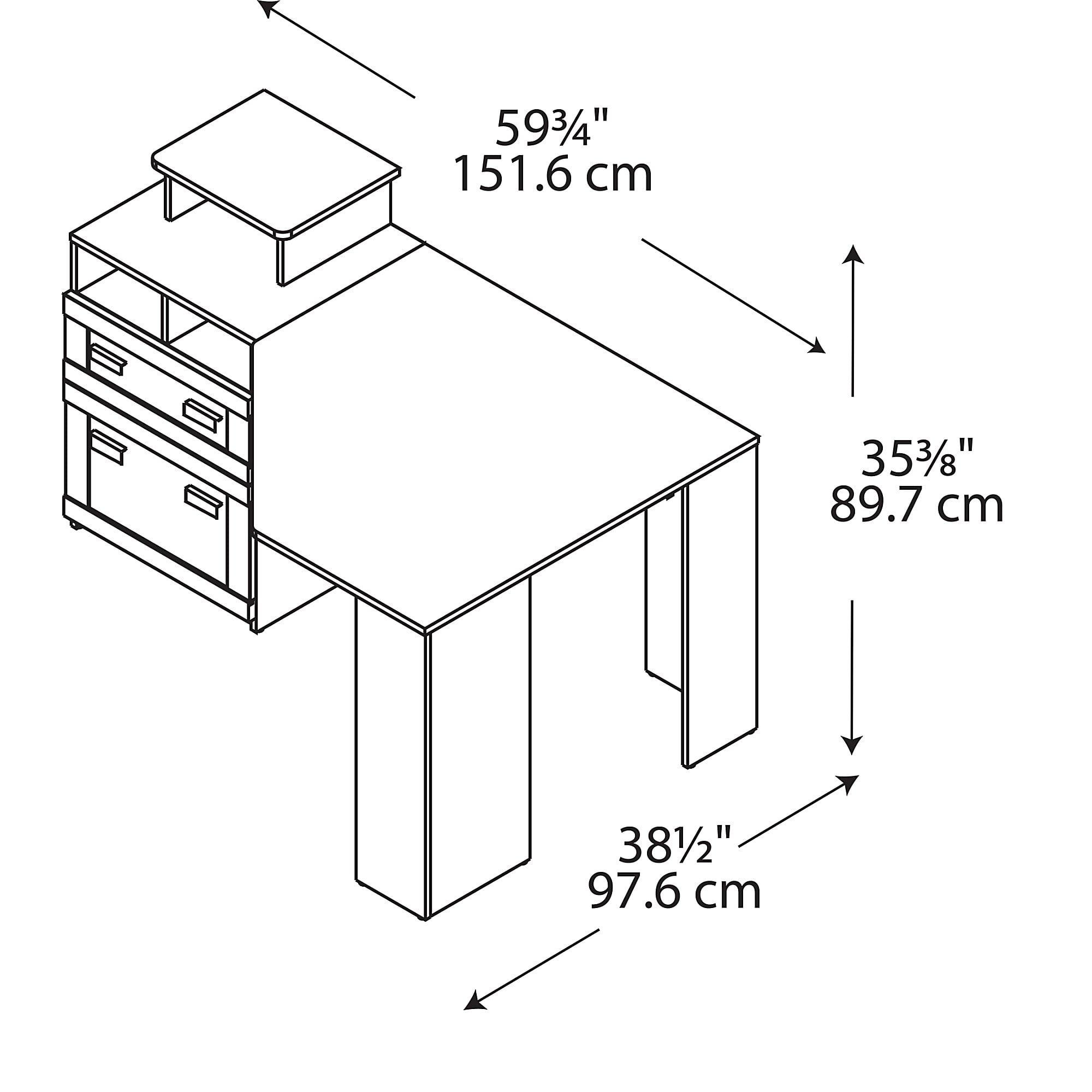 Bush Furniture Wheaton Reversible Corner Desk Best Desks