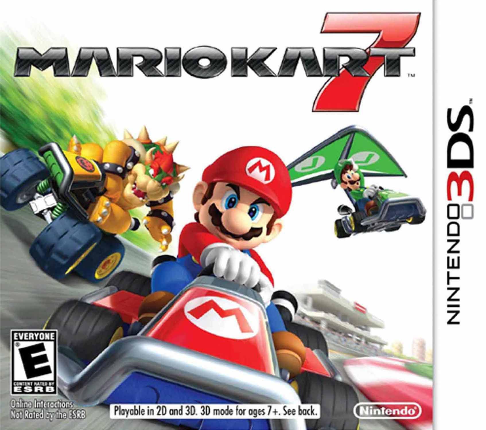 Mario Kart 7 Nintendo Nintendo 3ds 045496741747 Walmart Com