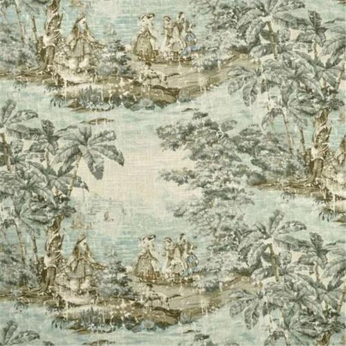 Covington BOSFLA10 Bosporous 206 Flax 55% Linen And 45% Viscose Fabric, 54 inch Width, 10 yds long