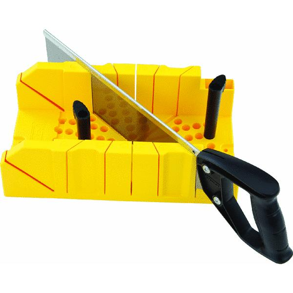 "Stanley? Clamping Mitre Box W/ Saw 12"", 20-600"