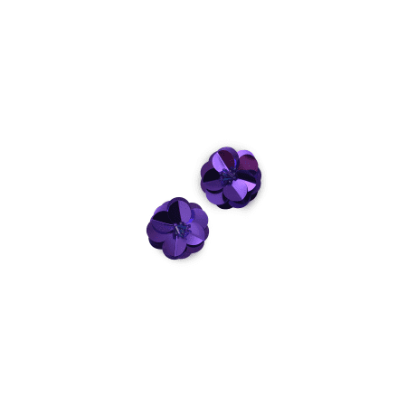 Expo Int'l Cluster Flower Sequin Applique Pack of 2
