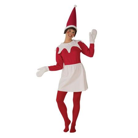 Sitting Elf Woman Christmas Costume Womens Wholesale Church Suit