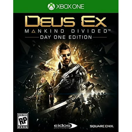 Deus Ex  Mankind Divided   Day One Edition For Xbox One