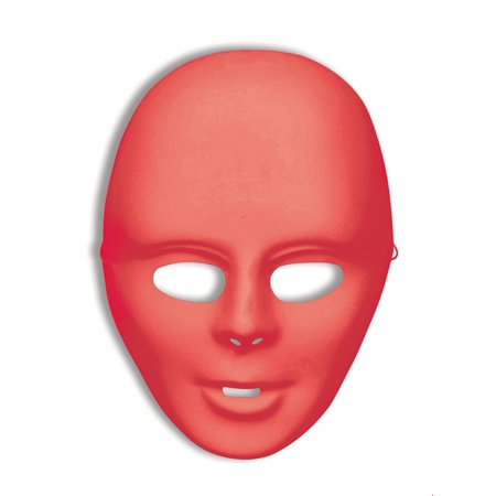 Red Full Face Mask Halloween Costume Accessory - Halloween Full Concert
