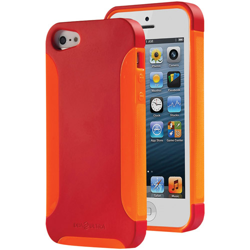 DBA CASES 639713195712 iPhone(R) 5 Ultra Complete Case (Poppy/Tangerine)