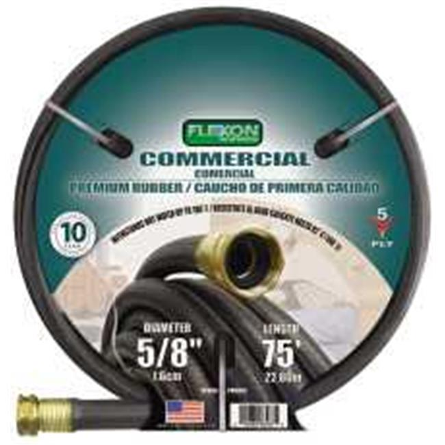 Flexon 701008C 75 Ft. Commercial Premium Rubber Hose