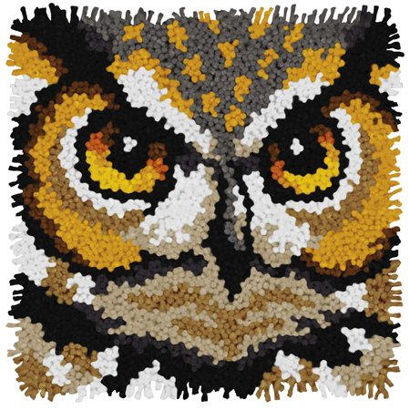 Dimensions® Owl Latch Hook Kit - Latch Hook Rug Kits
