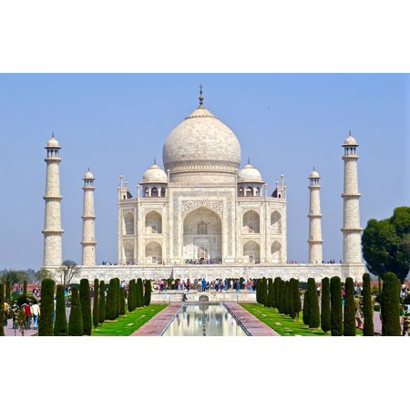 LAMINATED POSTER Travel Architecture Agra Taj Mahal India Poster Print 24 x 36