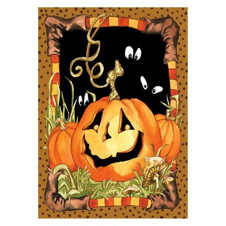 - Toland Home Garden Jack Pumpkin Flag