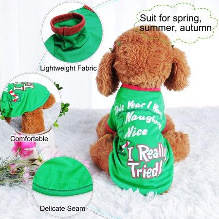 Dog T Shirt Puppy Small Pet Sweatshirt Tops Clothes Apparel Vest Costume #2, XL - image 2 of 7