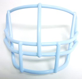 Lineman Columbia Blue Face Mask