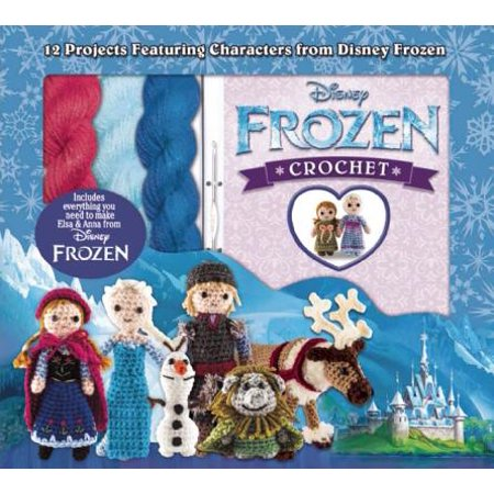 Disney Frozen Crochet : 12 Projects Featuring Characters from Disney (Best Disney Characters List)