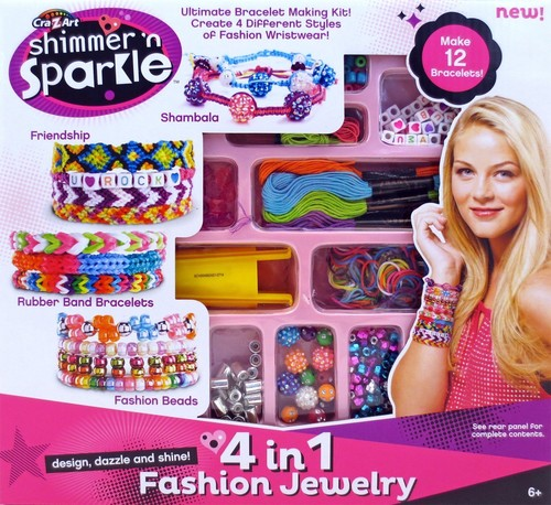 Shimmer and Sparkle 4 in 1 Jewelry Creations