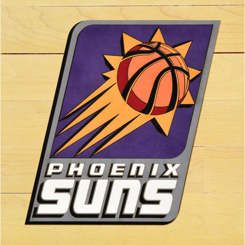 NBA - Phoenix Suns Courtlectible 12x12 Floor Piece with Logo