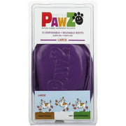 Pawz Natural Rubber Waterproof Dog Boots, 12 Ct