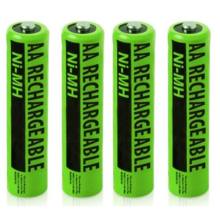 NiMh AA Batteries 2X2-Pack for Uniden NiMh AA Batteries 2-Pack for Uniden Phones BT-211AR / NiMH AA Batteries (4-Pack)