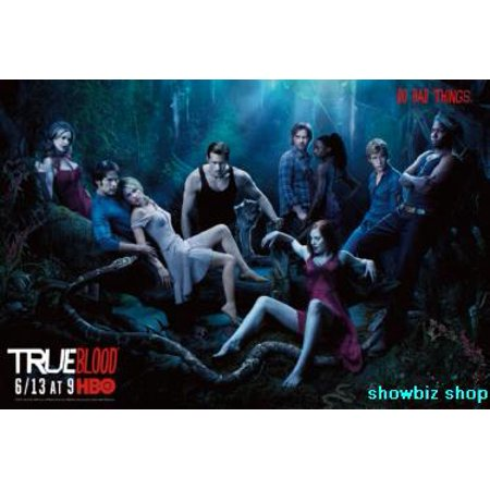 True Blood Tv Poster 11x17 Mini Poster Vamps In The (Trout Wood)