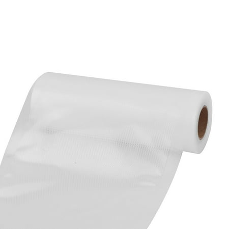 Kitchen PVC Vegetable Fruit Sealer Saver Food Storage Bags Vacuum Roll White