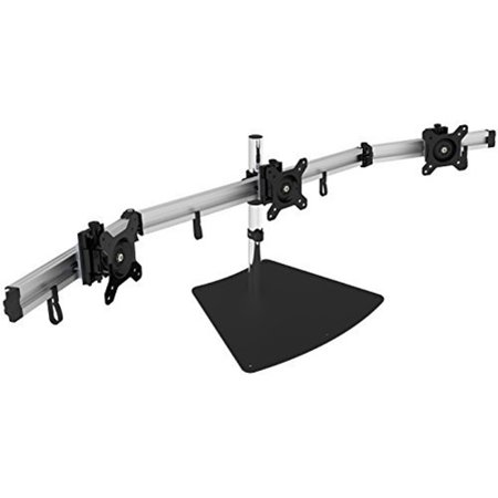 Siig CE MT2111 S1 Premium Aluminum Triple Monitor Stand for 13