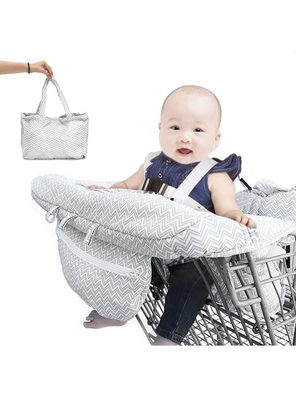 Portable Baby Kids Child Shopping Trolley Cart Seat Pad