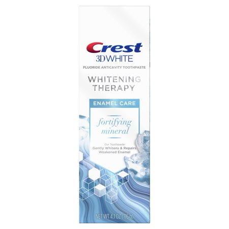 Crest 3D White Whitening Therapy Enamel Care Fluoride Toothpaste, 4.1 oz