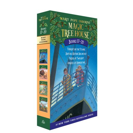 Magic Tree House Volumes 17-20 Boxed Set : The Mystery of the Enchanted