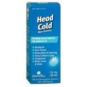 Natra Bio Head Cold, 1 Oz