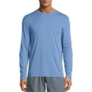 Hanes Men's and Big Men's Cool Dri Performance Long Sleeve T-Shirt (50+ UPF), Up to Size 3XL