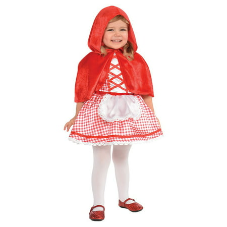 Lil Red Riding Hood Baby Infant Costume - Baby 6-12 - Snow White Costume Infant