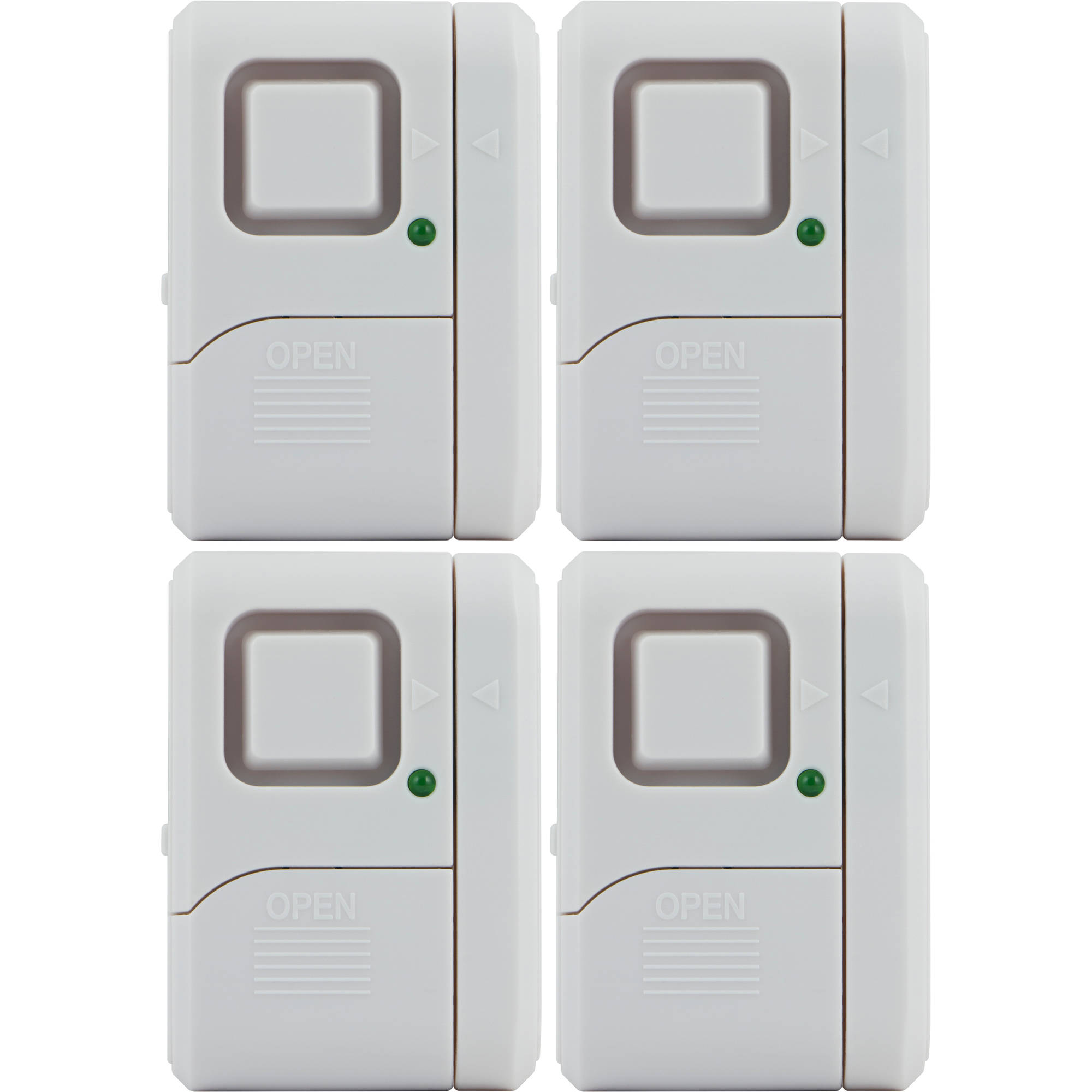 GE Window/Door Alarm, 4pk