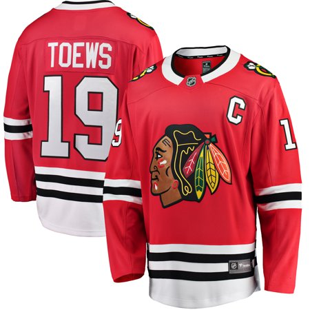 Jonathan Toews Chicago Blackhawks Fanatics Branded Youth Home Breakaway Player Jersey -