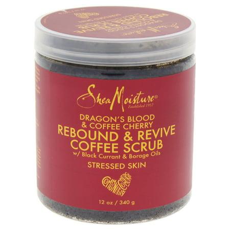 Dragons Blood Coffee Cherry Rebound Revive Coffee Scrub By Shea