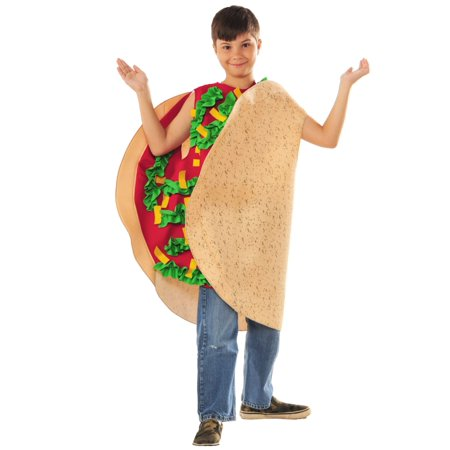 Taco Costume for Children - Size - Taco Costumes