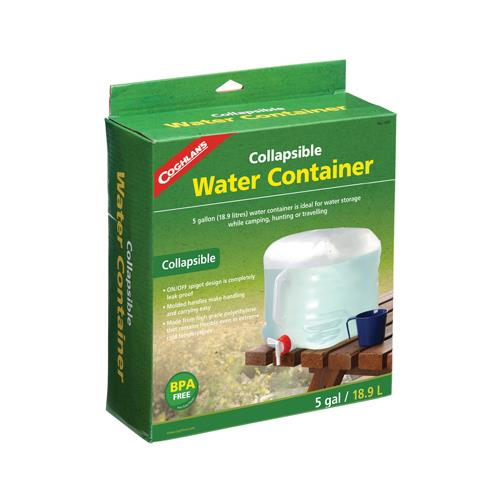 Coghlans 1205 5-Gallon Water Carrier