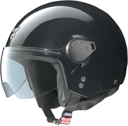 NOLAN N20 Outlaw Open Face Helmet Metal Black