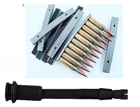 Ultimate Arms Gear 300 Pack of .308   7.62 X 51 10-Round Reusable Easy Reload Stripper Clips + Broken Shell Cartridge... by