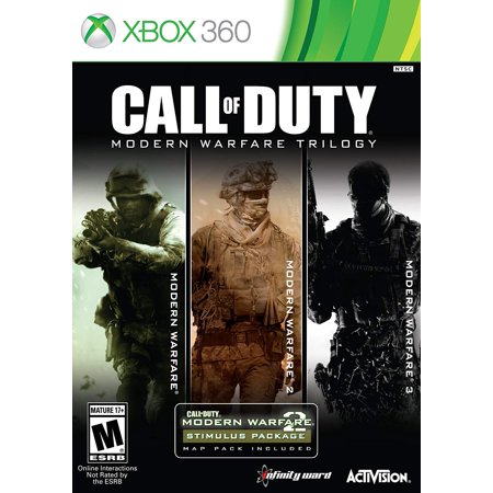Call of Duty: Modern Warfare Trilogy [3 Discs], Activision, Xbox 360, (Call Of Duty Modern Warfare 2 Pc Controller)